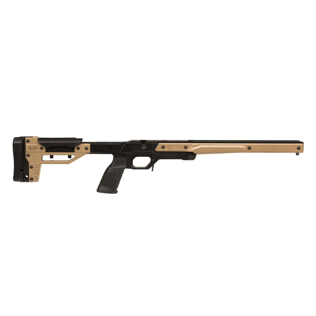howa-oryx-rifle-chassis-long-action-flat-dark-earth--mdt104218-fdg-5-round-magazine
